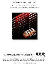 Hoer type set catalog